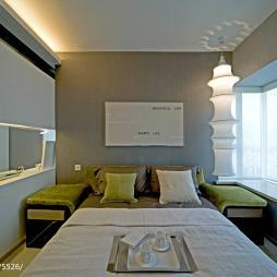 现代简约卧室窗户设计