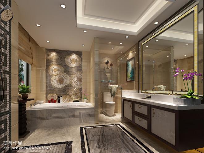 洗手间装修效果图集
