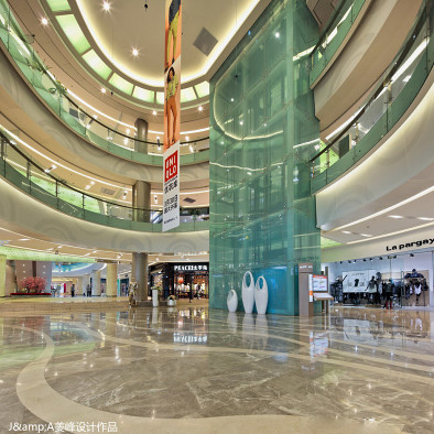 姜峰—郑州锦艺城购物中心室内设计