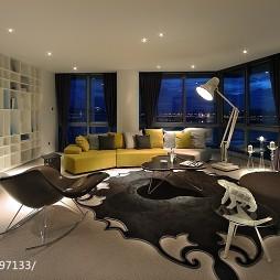 现代客厅窗户样板间设计