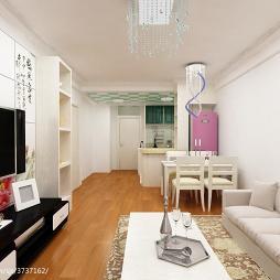 家庭现代沙发效果图