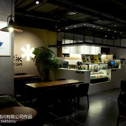 咖啡厅隔断设计
