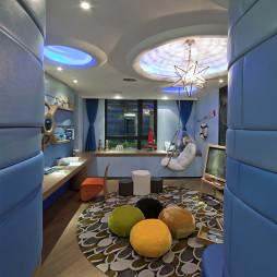现代跃层样板房儿童房设计