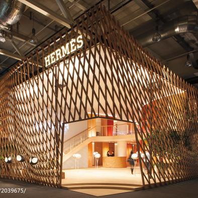 伊东丰雄—Hermès Pavilion