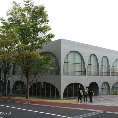 伊东丰雄—东京多摩美术大学图书馆