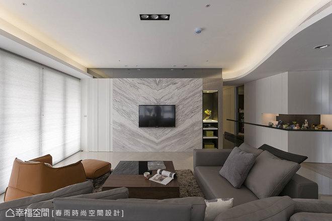 电视墙简单造型效果图库
