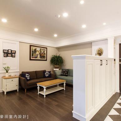 时尚现代客厅玄关装修设计