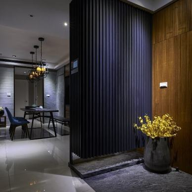 现代风玄关装修设计图