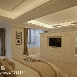 欧式卧室隔断装修设计
