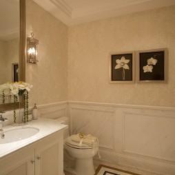 欧式卫浴装修设计效果图