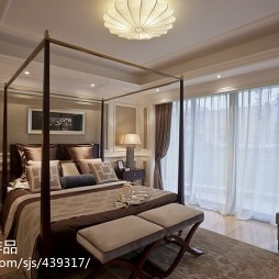 欧式卧室窗户装修设计