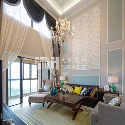 简约美式风格客厅装修设计