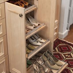 实木家用鞋架设计