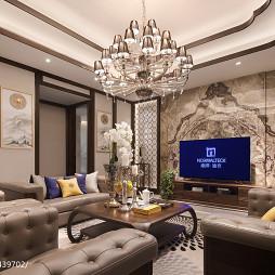 实木家具展厅客厅设计