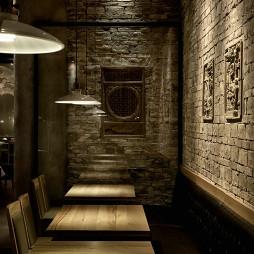 餐饮空间背景墙装修设计