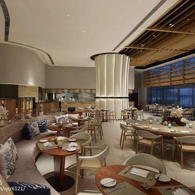 海玥餐厅吊顶装修设计