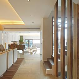 中式样板房楼梯装修设计