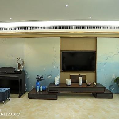 【饰空设计】卓越浅水湾现代奢华风格设计实景图_1800320