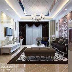 客厅电视墙装修设计效果