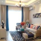 地中海风格客厅窗户装修设计