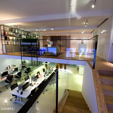 LOFT办公室楼梯装修设计