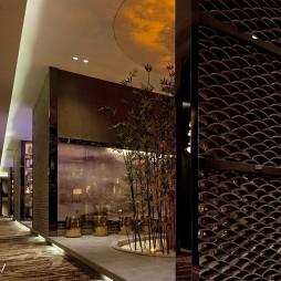 高级大饭店过道装修设计