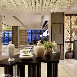 高级大饭店大厅装修设计