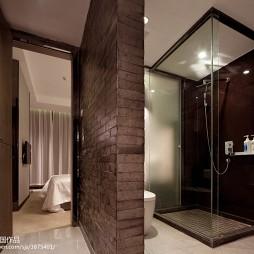 高级大饭店套房卫生间装修设计