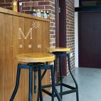 饮料店吧台装修设计