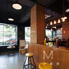 奶茶店吧台设计效果图