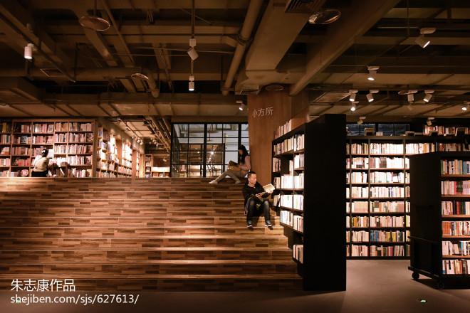 书店楼梯隔断装修效果图