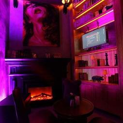 酒吧博古架装修设计