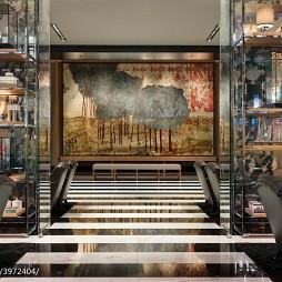 高级酒店大厅装修效果图
