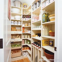 厨房用品置物架装修效果图片欣赏