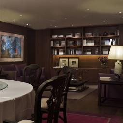文化餐厅会客厅装修设计