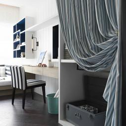 现代风卧室书房设计