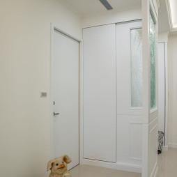 混搭轻古典玄关隔断装修设计