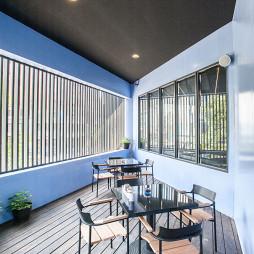 混搭西餐厅就餐区吊顶设计效果图
