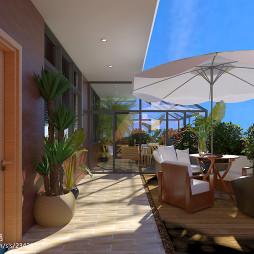 住宅现代花园装修设计