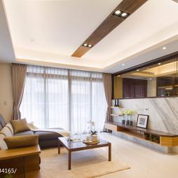 家居混搭客厅隔断设计