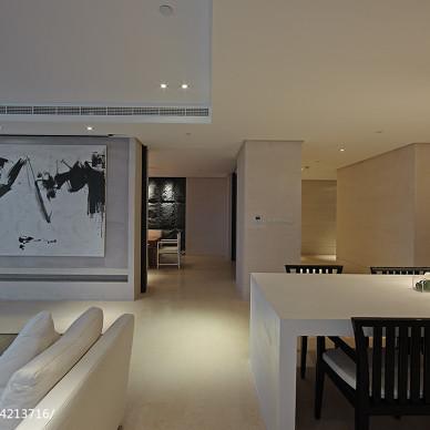 私人会所会客厅背景墙设计