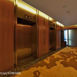 酒店电梯装修设计效果图
