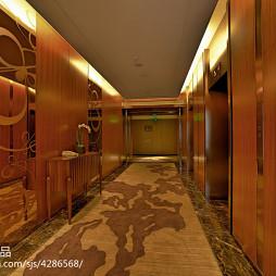 酒店走廊装修图片