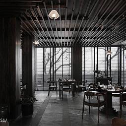 主题餐厅吊顶装修设计
