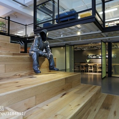 loft办公室楼梯设计