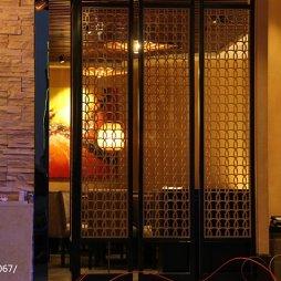 中餐厅隔断设计