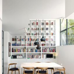 整体书柜效果图集欣赏