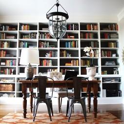 整体书柜效果图集观赏
