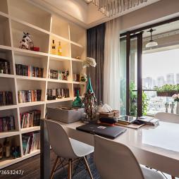 时尚现代书房阳台设计