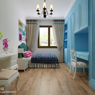 美式小孩卧室装修效果图汇总